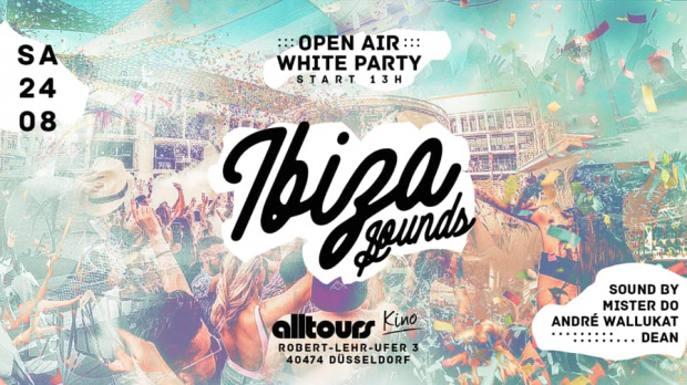 Ibiza Sounds - Open Air White Party | Samstag, 24. August 2019