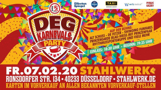 "DEG: Return of the ""Karnevalsparty"" 