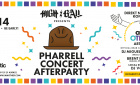 Concert Afterparty Pharrell Williams | Samstag, 27. September 2014 | the attic - Düsseldorf