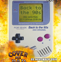 Back to the 90s | Samstag, 22. November 2014
