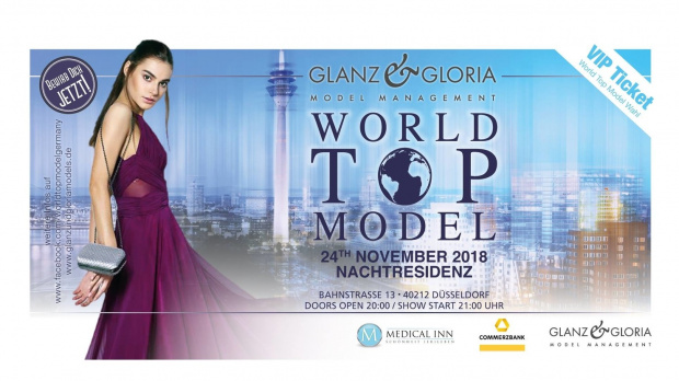 World Top Model Wahl 2018 | Samstag, 24. November 2018