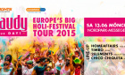 Holi Gaudy - colour your day | Samstag, 13. Juni 2015 | Messegelände Nordpark - Mönchengladbach