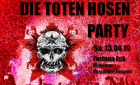 Die Toten Hosen Party | Samstag, 13. April 2019 | Fortuna Eck - Düsseldorf