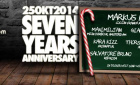 RedRoom – Seven Years Anniversary | Samstag, 25. Oktober 2014 | 102 - Neuss