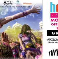Holi Gaudy - Offizielle Aftershow-Party   Samstag, 14. Juni 2014