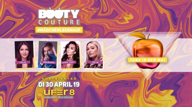 Booty Couture | Dienstag, 30. April 2019