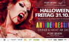 Antidepressiva Dinner & Night Air Show | Freitag, 31. Oktober 2014 | Port Seven - Düsseldorf