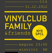 Vinylclub 006 - New Year's Eve Special | Montag, 31. Dezember 2012