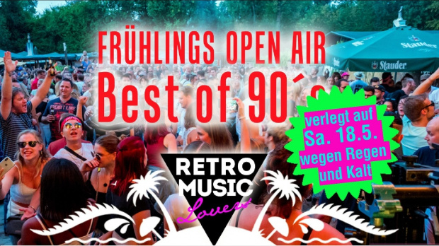 Frühlings Open Air - Best of 90's | Samstag, 18. Mai 2019