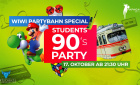 Students 90s Party - Wiwi Partybahn Special | Donnerstag, 17. Oktober 2019 | Papagayo - Düsseldorf