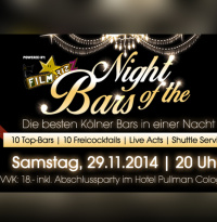 Night of the bars | Samstag, 29. November 2014