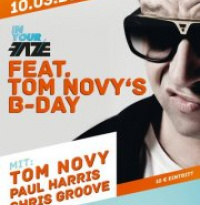 In Your Faze feat. Tom Novy's B-Day | Samstag, 10. März 2012