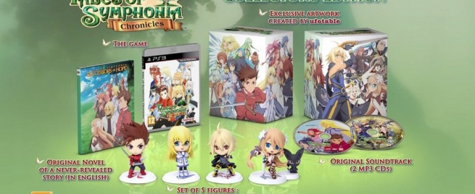 Tales of Symphonia Chronicles Collector's Edition   Unboxing: Namco Bandai packt aus