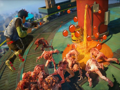 Sunset Overdrive im Test | Xbox One: Too much is the Fish