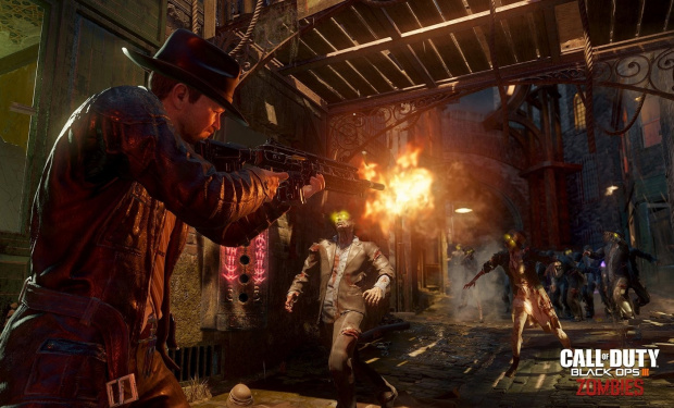"""Zombies im """"Film Noir""""-Stil, Collector's Edition mit Kühlschrank: Call of Duty: Black Ops 3 - Zombies und Special Editions"""