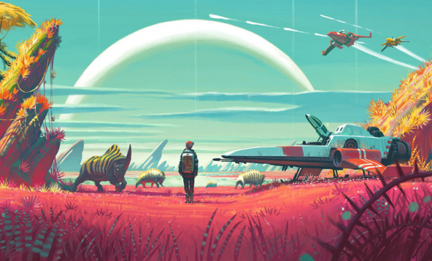 No Man's Sky - Release am 22. Juni, neues Video: 18 Trillionen Planeten auf eurer PlayStation 4