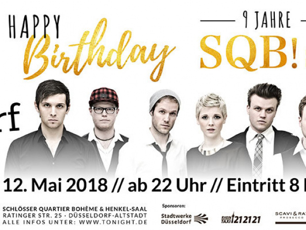 Save the date!: Mega-Event im SQB!