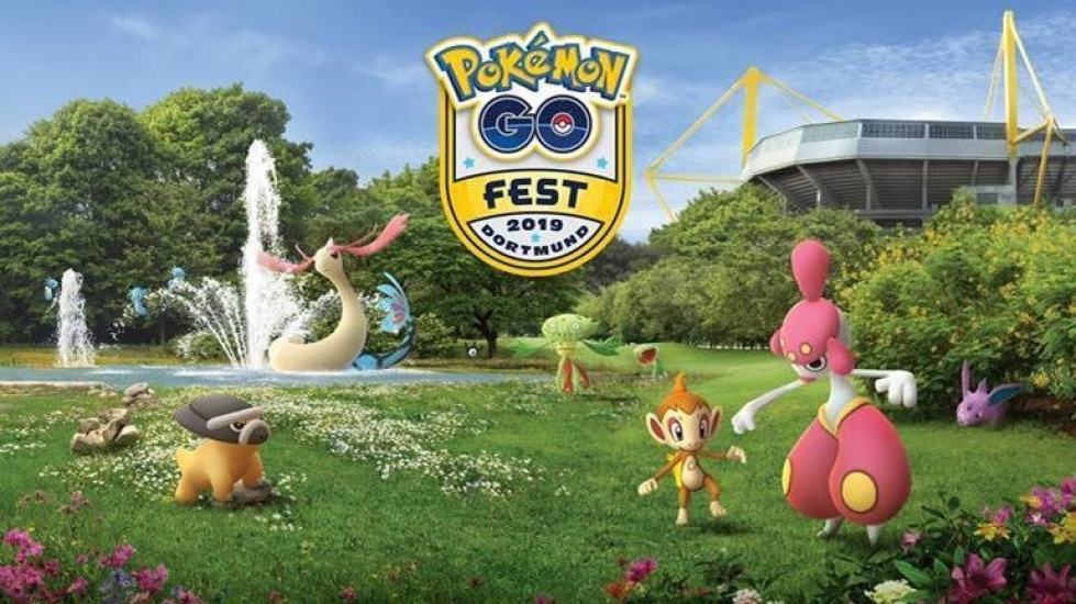 4 Tage voller virtueller Monster: Pokémon Go Fest in der Westfalenhalle in Dortmund