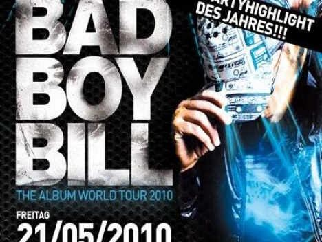 Destination 2151 am 21. Mai: Party-Highlight im Meilenstein: Abdancen mit Bad Boy Bill