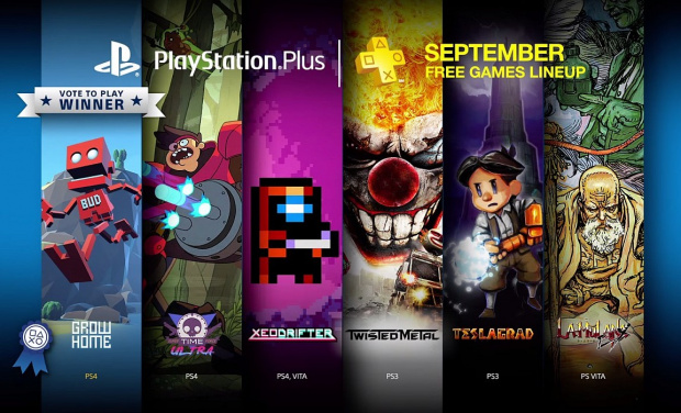 Grow Home, Super Time Force Ultra und Xeodrifter: PlayStation Plus Games im September 2015