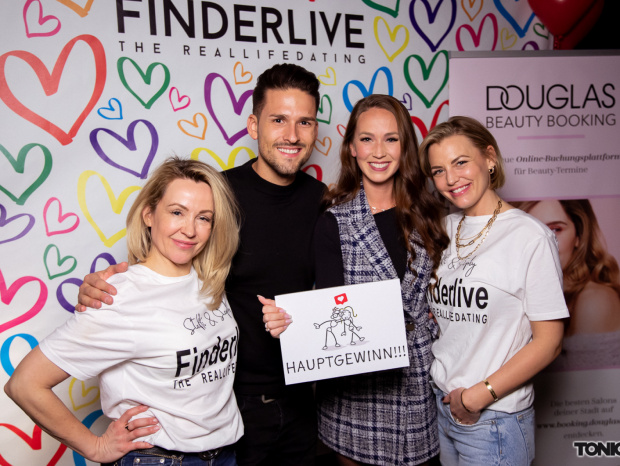 "So war die ""Finderlive""-Party im Sir Walter: ""Bachelor in Paradise""-Traumpaar Christina Grass & Marco Cerullo feierte mit"