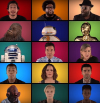"""A long time ago...: """"Star Wars: The Force Awakens""""-Medley mit Jimmy Fallon und The Roots"""