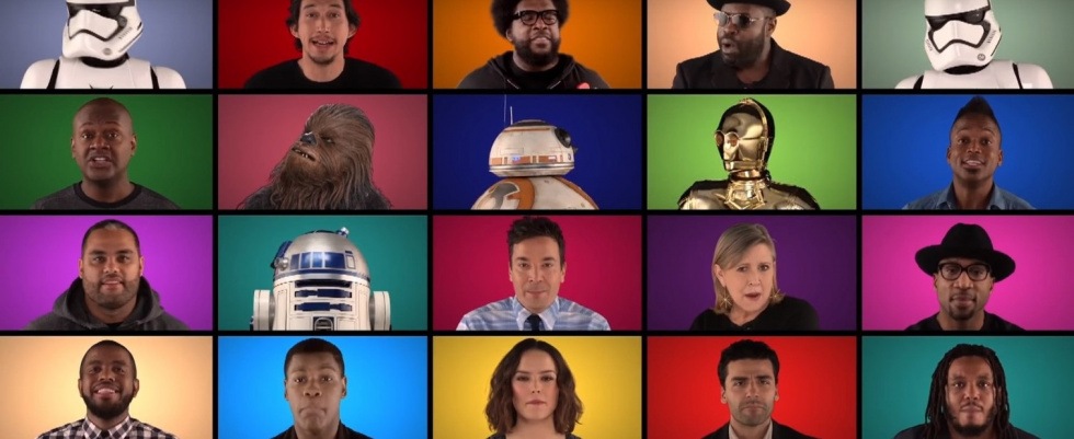 "A long time ago...: ""Star Wars: The Force Awakens""-Medley mit Jimmy Fallon und The Roots"