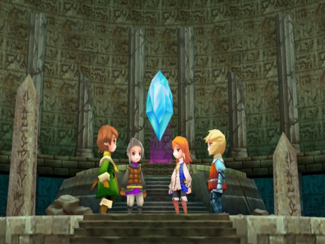 """Final Fantasy III kommt für Steam: """"May the Crystal be with you!"""""""