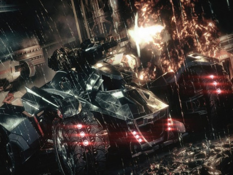 Batman: Arkham Knight | Zweiter Trailer aus den ACE Chemical Labs: Batmobil in Action