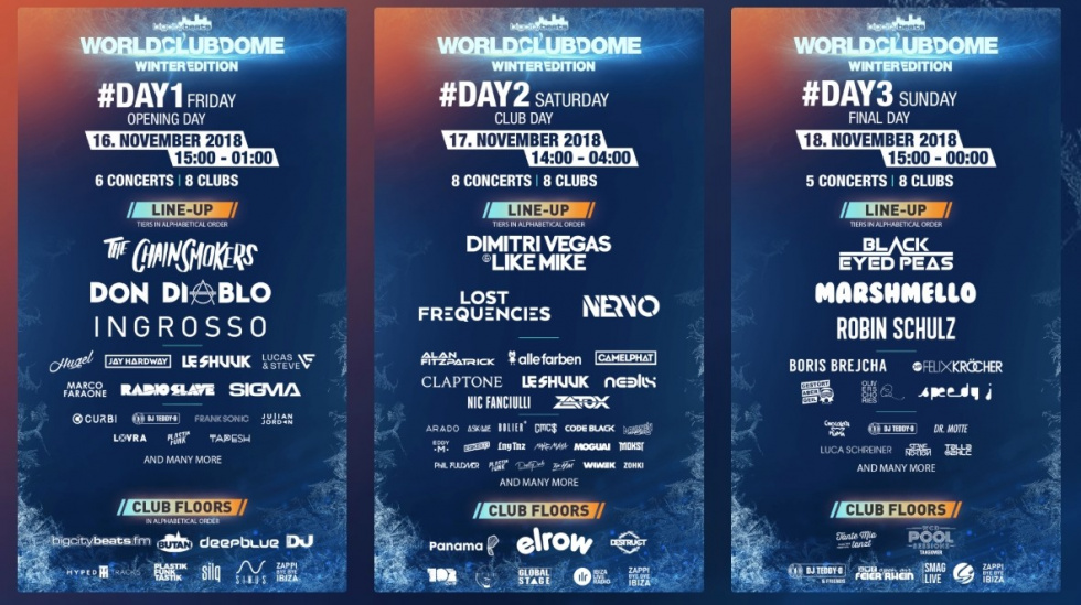 BigCityBeats World Club Dome Winter Edition: 3-Tages-Ticket für Mega-Event gewinnen!