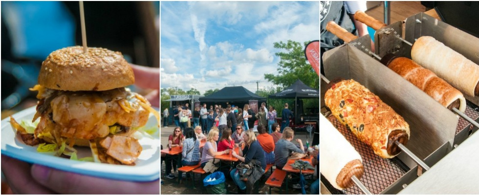 Street Food Festival: Im Jack in the Box gibt's Food vom Truck