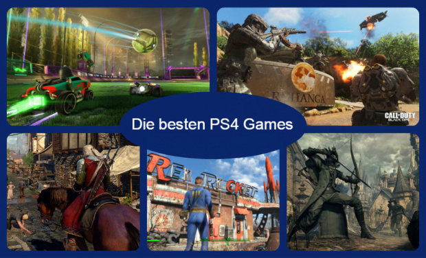 Sony's Kronjuwelen: Top 10 PlayStation 4 Games 2015