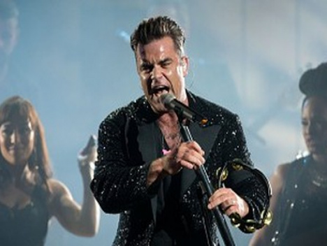 Theaterdonner-Show in Gelsenkirchen : Robbie Williams hat eine Entschuldigung verdient