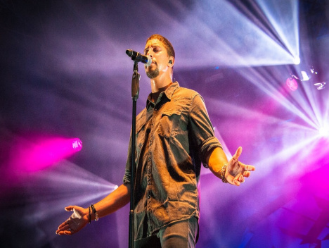 Andreas Bourani, Teesy und OK Kid in Köln: Gamescom City Festival 2015: Fotos von der Event-Meile