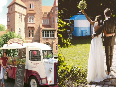 Wedding Wonderland: Wer hip sein will, heiratet mit Foodtruck!