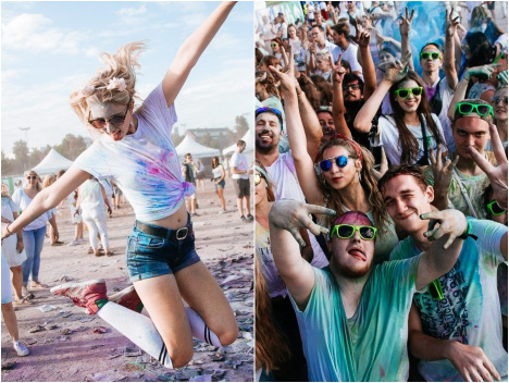 "Bunt, bunter, Holi: Alle Infos zum ""Holi Festival of Colours"" 2019"