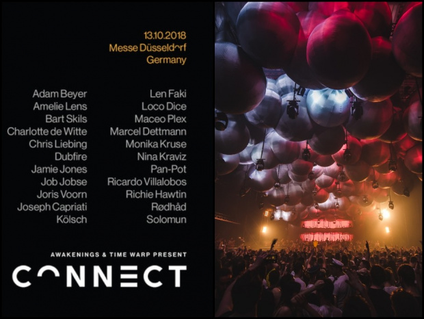 Feinster Elektro am 13. Oktober: Mega Line-up beim Connect Festival