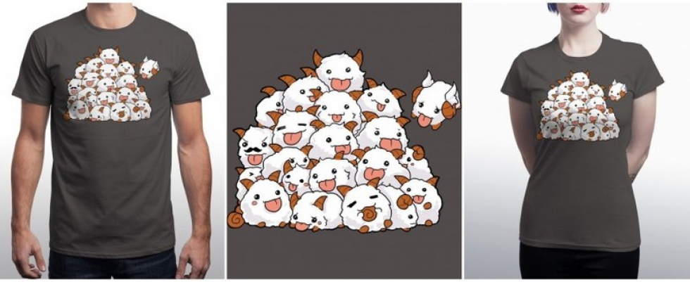 "League of Legends | Qwertee: T-Shirt Tipp des Tages: ""Poro Poro Poro!"""