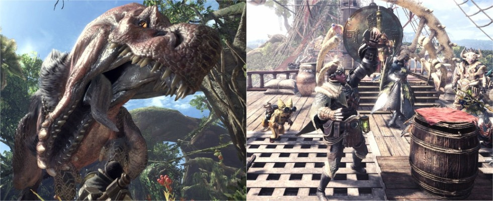 Monster Hunter: World im Test: Auf zur wilden Monsterjagd!