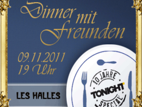 10 jahre tonight special dinner mit freunden im les halles. Black Bedroom Furniture Sets. Home Design Ideas