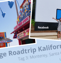 Elf Tage quer durch Kalifornien: Tag 3: Monterey, Santa Cruz, Silicon Valley und San Francisco