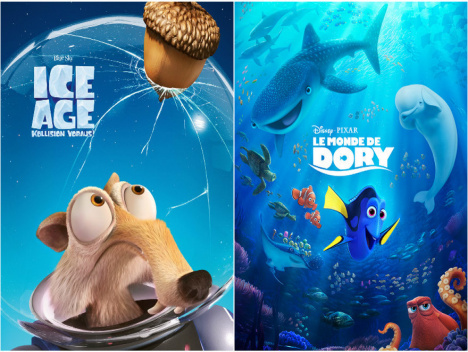 Kung Fu Panda 3, Pets, Finding Dory, Moana, Sing: Die besten Animationsfilme 2016