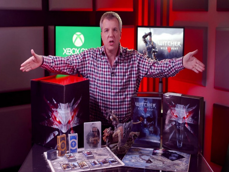 Major Nelson darf Geschenke auspacken: The Witcher 3: Wild Hunt - Collector's Edition Unboxing