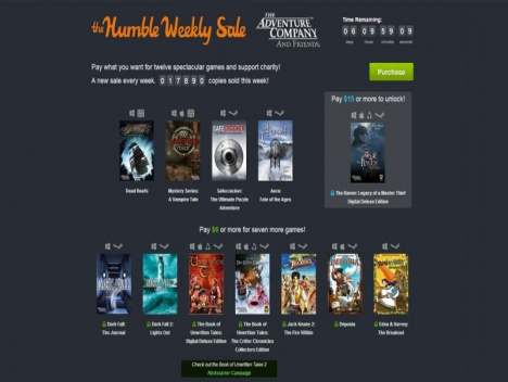 Humble Weekly Sale | Adventures: The Book of Unwritten Tales und mehr