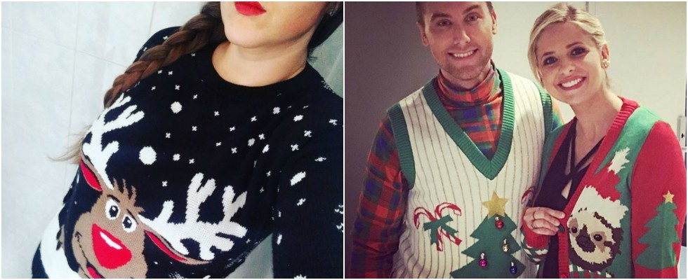 """Christmas Jumper"": Der Weihnachtspulli als Fashion-Must-Have"