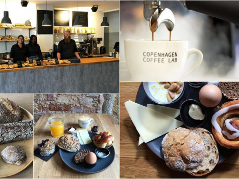 Copenhagen Coffee Lab & Bakery: Kopenhagen-Flair mitten im Medienhafen