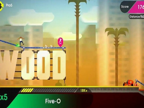 OlliOlli 2: Welcome to Olliwood | Erster Trailer: Tony Hawk's Erbe in 2D