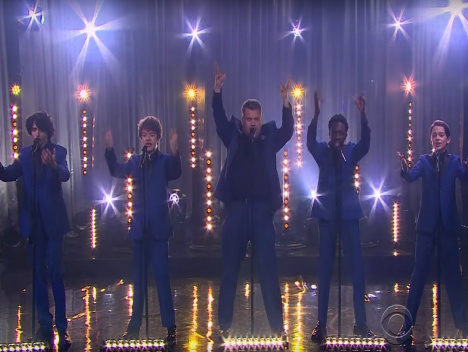 """The Late Late Show with James Corden: Upside Down - Die """"Stranger Things""""-Jungs als Motown Band"""