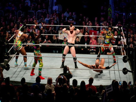 WWE Live Road to WrestleMania: Top-Wrestler mit Seltenheitswert im ISS-Dome