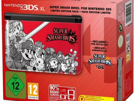 nintendo 3ds xl super smash bros limited edition in